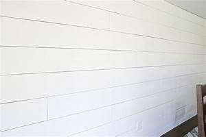 HOW TO: Shiplap a wall the easy way! Use our tutorial to