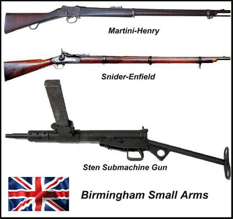 Firearms weren't the only thing produced by Birmingham ...