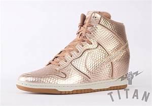 "Nike Dunk Sky Hi ""Metallic Bronze"" - SneakerNews.com"
