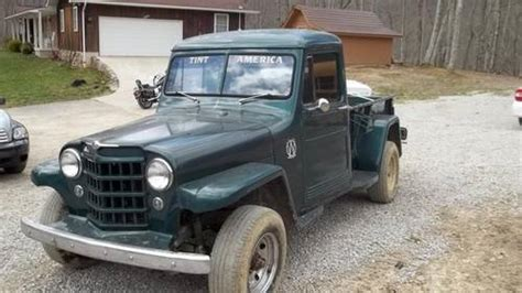 willys jeep pickup  sale car  classic
