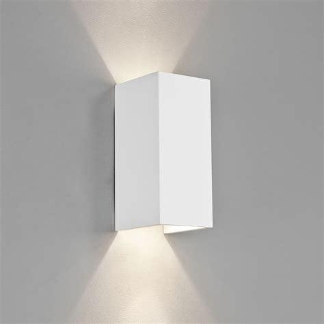 astro lighting 0964 parma 210 white plaster wall light