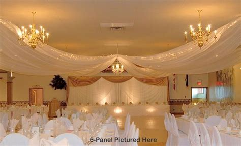 ceiling drape kits 1000 ideas about ceiling draping on pipe and