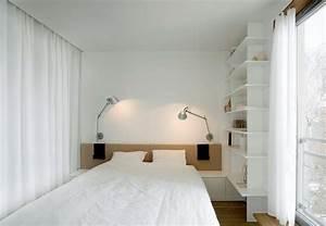 Regal Mit Vorhang : 55 wohnungseinrichtung ideen f r kleine r ume mit stil ~ Sanjose-hotels-ca.com Haus und Dekorationen