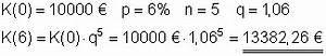 Betrag Berechnen : zinseszinsrechnung l sungen der aufgaben i mathe brinkmann ~ Themetempest.com Abrechnung