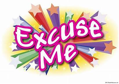 Excuse Clipart Please Manners Thank Pardon Welcome