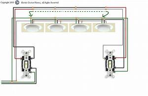 I Need A Diagram For Wiring Three Way Switches To Multiple