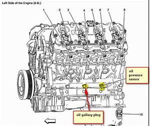 Where Is The Engine Block Oil Gallery Plug  Do You Have A