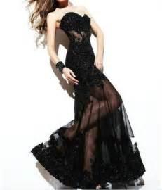 black cocktail dresses for weddings black applique evening gown formal prom dress wedding gown 2052631 weddbook