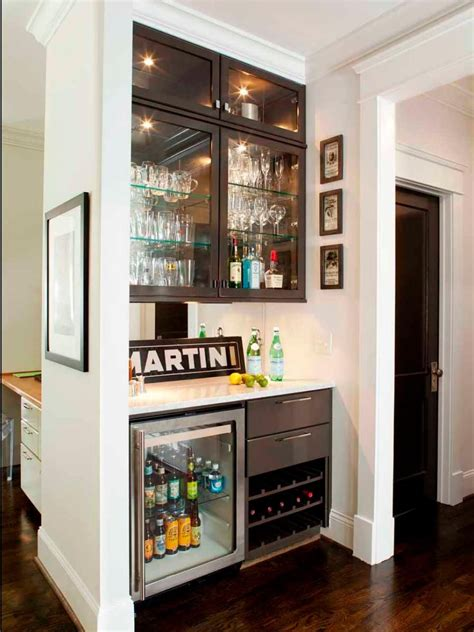 Small Home Bar Ideas by 15 Stylish Small Home Bar Ideas Beverage Center Home