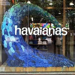 Visual Merchandising Studium : havaianas amazing and creative store window display shopd pinterest schaufenster ~ Markanthonyermac.com Haus und Dekorationen