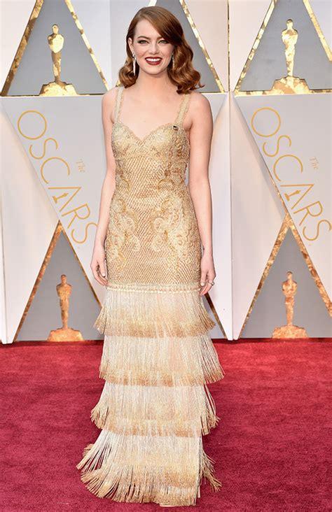Emma Stone y su estilo en la alfombra roja más allá de ...
