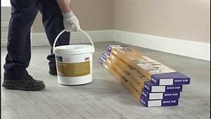 Quick Step Livyn : installeren van een quick step livyn vloer met lijm youtube ~ Melissatoandfro.com Idées de Décoration