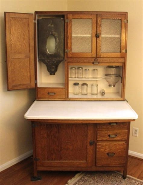 Antique Biederman Hoosier Cabinet  Hoosiers  Antique