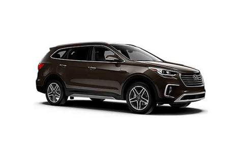 2018 Hyundai Santa Fe · Monthly Lease Deals & Specials
