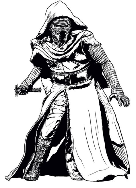 kylo ren coloring pages  coloring pages  kids