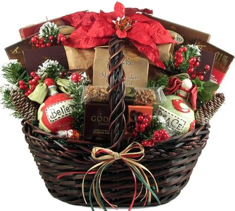 latest new gift baskets for christmas a homespun gift basket with decadent chocolates and two painted ceramic