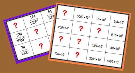 Cuadrados MÁgicos Multiplicativos Con NotaciÓn CientÍfica