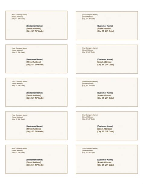 avery 5963 template shipping labels design 10 per page works with avery 5163 office templates