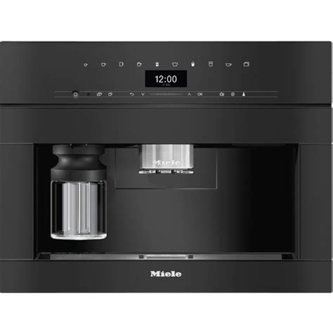 The materials used to make the miele coffee and tea maker parts and accessories include stainless steel, which is used for the housing, percolator, brew unit, and handles. Generation 7000   CVA 7440 VitroLine Obsidian Black Built-in coffee machine - Built-in Coffee ...