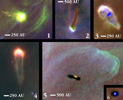 proplyds   orion nebula esahubble