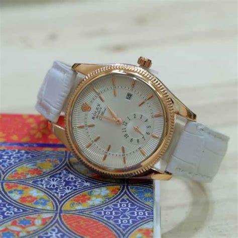 Jam Tangan Wanta Rolex Cellini jual jam tangan rolex cellini tali kulit unisex harga murah