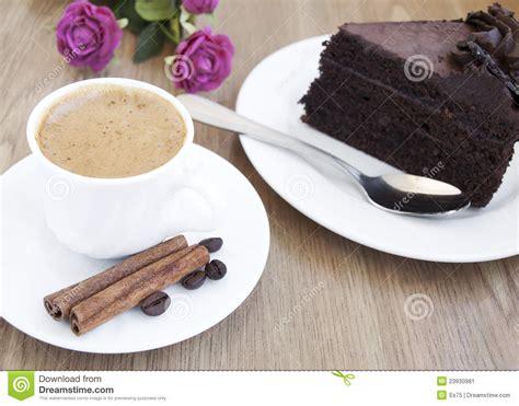 cappuccino  chocolate cake stock image image  mocha