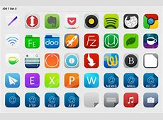 iOS 7 Set 3 by iynque on DeviantArt
