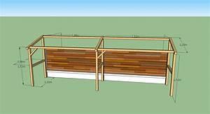 Bucher A Bois : gigashow r alisation d 39 un abris en bois pour b ches ~ Edinachiropracticcenter.com Idées de Décoration
