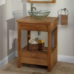 meuble salle de bains pas cher 30 projets diy With salle de bain design avec meuble vasque bois pas cher
