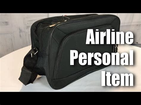 airlines personal item sized   carry  hand