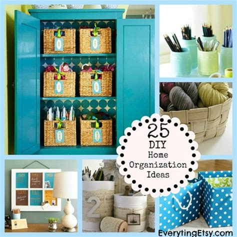 kitchen organization ideas diy 25 diy home organization ideas everythingetsy 5437
