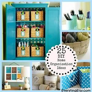 25 DIY Home Organization Ideas EverythingEtsy
