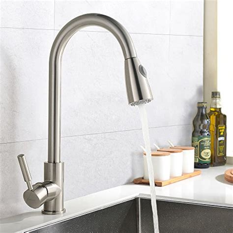 best prices on kitchen faucets best commercial stainless steel single handle pull