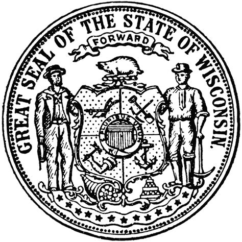 Image result for wisconsin seal