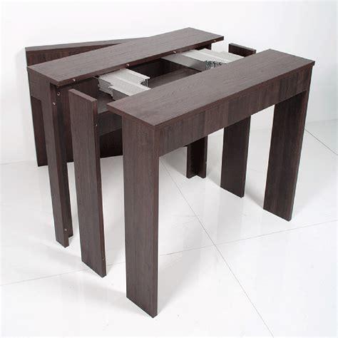 consolle o console consolle da ingresso rovere scuro allungabile in tavolo
