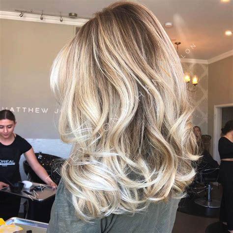 beige blonde balayage  senior stylist lexi oakville