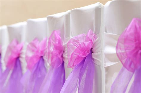 image gallery organza chair sashes