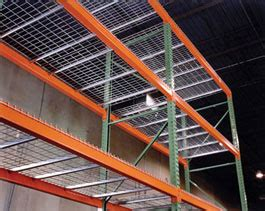 husky rack and wire wireway husky wire decking for pallet rack