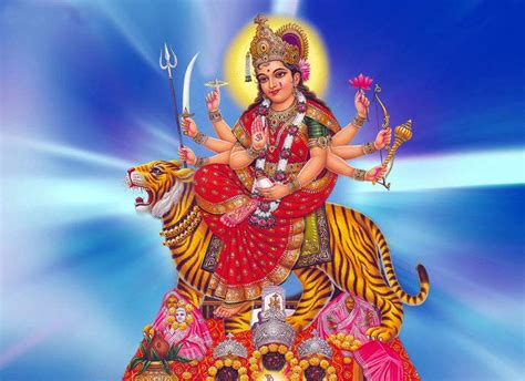 Maa Durga Hd Pictures  Hindu God Wallpapers Free Download