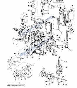 Johnson Powerhead Group Parts For 1960 5 5hp Cd