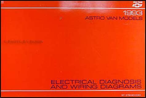 Chevy Astro Van Wiring Diagram Manual Chevrolet