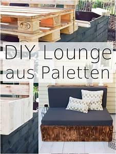 Garten Lounge Paletten : flambierte diy sitzm bel aus paletten der einfache und g nstige weg zur schicken lounge im ~ Whattoseeinmadrid.com Haus und Dekorationen
