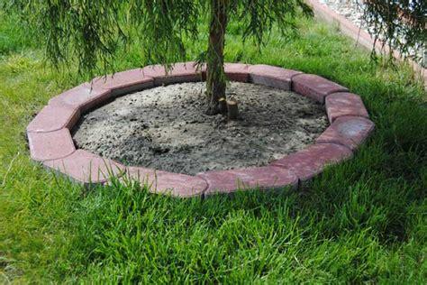 palisaden setzen ohne beton rasenkantensteine verlegen anleitung