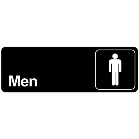 Bathroom Sign by Bathroom Door Sign Restroom For Commercial