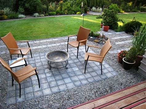 Gravel Patio Ideas And Stone