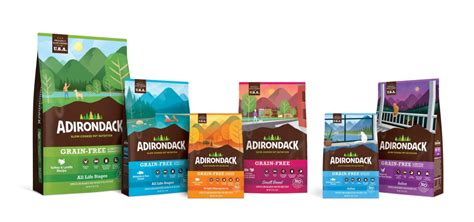 adirondack pet food releases  formulas updated