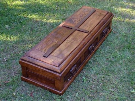 shipping hand built reclaimed wood casket