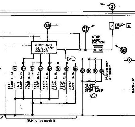 300zx Turn Light Wiring Diagram by Brake Lights Won T Come On Zdriver