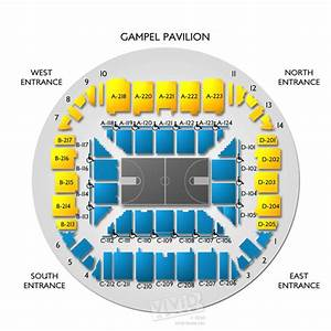 Gampel Pavilion Seating Chart Vivid Seats