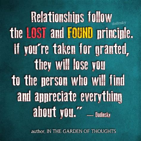 lost   relationships follow  lost
